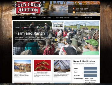 ColdCreek - New Braunfels Web Design